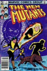 New Mutants (1983-1991) #1 Variant C: 75 Cent Variant
