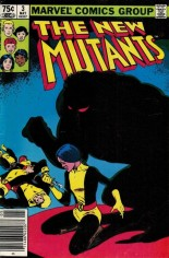 New Mutants (1983-1991) #3 Variant C: 75 Cent Variant