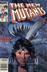 New Mutants (1983-1991) #18 Variant C: 75 Cent Variant
