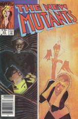 New Mutants (1983-1991) #23 Variant C: 75 Cent Variant