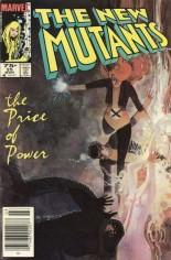 New Mutants (1983-1991) #25 Variant C: 75 Cent Variant