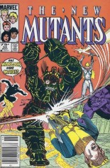 New Mutants (1983-1991) #33 Variant C: 75 Cent Variant