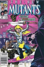 New Mutants (1983-1991) #34 Variant C: 75 Cent Variant