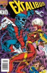 Excalibur (1988-1998) #73 Variant A: Newsstand Edition