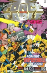 X-Force (1991-2002) #Annual 1995 Variant A: Newsstand Edition; X-Force/Cable Annual