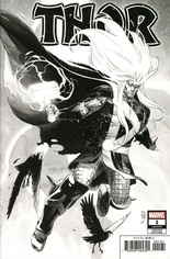 Thor (2020-2021) #1 Variant S: Incentive Party Sketch Cover
