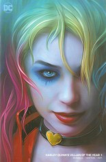 Harley Quinn Villain Of The Year #1 Variant P: Comic Mint Minimal Trade Dress Exclusive
