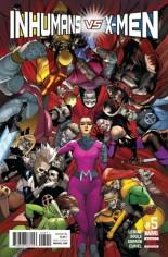 Inhumans vs. X-Men (2016-2017) #5 Variant A