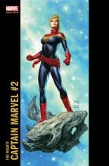 Mighty Captain Marvel #2 Variant D: Corner Box Variant