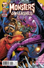 Monsters Unleashed (2017) #4 Variant A
