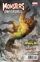 Monsters Unleashed (2017) #4 Variant D