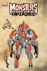 Monsters Unleashed (2017) #4 Variant F