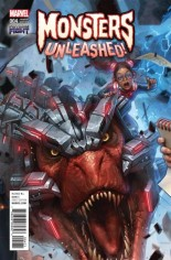 Monsters Unleashed (2017) #4 Variant G