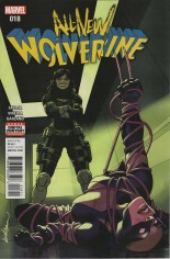 All-New Wolverine (2016-Present) #18 Variant A