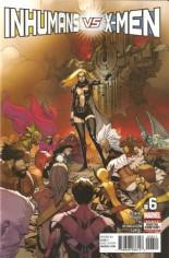 Inhumans vs. X-Men (2016-2017) #6 Variant A