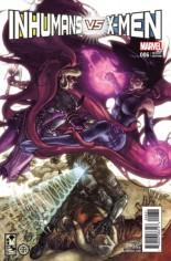 Inhumans vs. X-Men (2016-2017) #6 Variant C