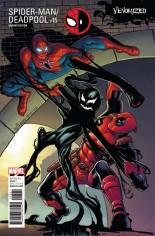 Spider-Man/Deadpool (2016-Present) #15 Variant C: Venomized Variant