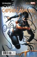 Mighty Captain Marvel #3 Variant C: Venomized Variant
