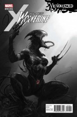 All-New Wolverine (2016-Present) #19 Variant D: Venomized B&W Variant