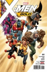 X-Men: Gold (2017-2018) #1 Variant A