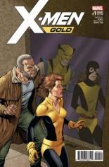 X-Men: Gold (2017-2018) #1 Variant E: Classic Variant