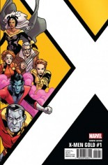X-Men: Gold (2017-2018) #1 Variant F: Corner Box Variant