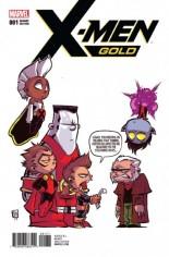X-Men: Gold (2017-2018) #1 Variant G