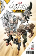 X-Men: Gold (2017-2018) #1 Variant H: Premiere Variant