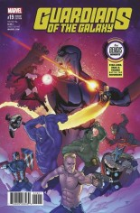 Guardians of the Galaxy (2015-2017) #19 Variant B: Best Bendis Moments Variant; Burrows Best Bendis Moments Variant