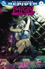 Batgirl and the Birds of Prey (2016-2018) #9 Variant B