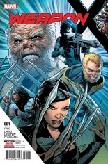 Weapon X (2017-Present) #1 Variant A