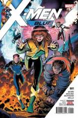 X-Men: Blue (2017-Present) #1 Variant A