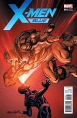 X-Men: Blue (2017-Present) #1 Variant F