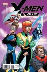 X-Men: Blue (2017-Present) #1 Variant D