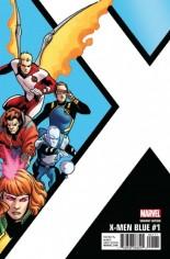 X-Men: Blue (2017-Present) #1 Variant G: Corner Box Variant