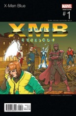X-Men: Blue (2017-Present) #1 Variant B: Hip Hop Variant