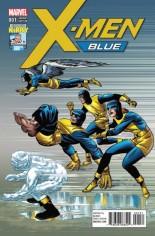 X-Men: Blue (2017-Present) #1 Variant E: 100th Variant