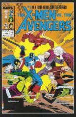 X-Men vs. the Avengers (1987) #1 Variant C: Marvel Universe Comic Packs Reprint Packaged w/ Wolverine and She-Hulk