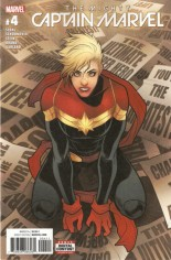 Mighty Captain Marvel #4 Variant A