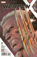 Weapon X (2017-Present) #2 Variant A