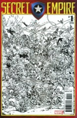 Secret Empire (2017-Present) #1 Variant I: Party Sketch Variant Cover