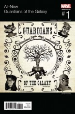 All New Guardians Of The Galaxy (2017) #1 Variant B: Hip Hop Variant