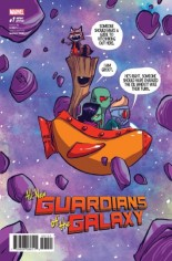 All New Guardians Of The Galaxy (2017) #1 Variant E