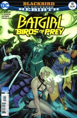 Batgirl and the Birds of Prey (2016-2018) #10 Variant A