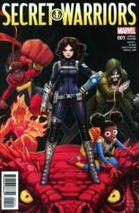 Secret Warriors (2017-Present) #1 Variant B
