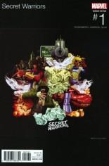 Secret Warriors (2017-Present) #1 Variant C: Hip Hop Variant