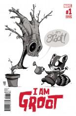 I Am Groot (2017) #1 Variant G: B&W Original Variant