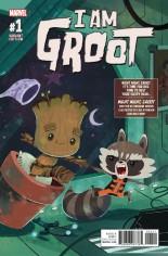I Am Groot (2017) #1 Variant B: Night Night Groot Variant