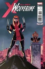 All-New Wolverine (2016-2018) #21 Variant D: Mary Jane Variant