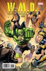 W.M.D. Weapons Of Mutant Destruction #1 Variant C